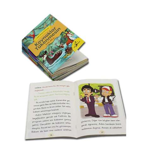1. Sınıf Okuma Kitapları Seti - 10 Kitap - 320 sayfa