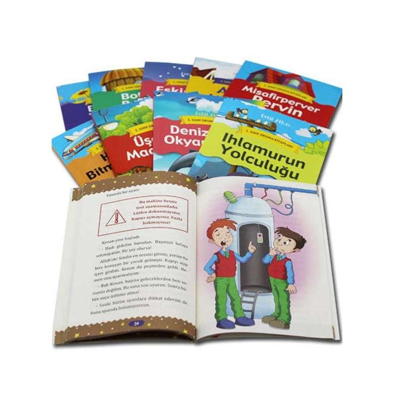 3. Sınıf Okuma Kitapları Seti - 10 Kitap - 640 sayfa