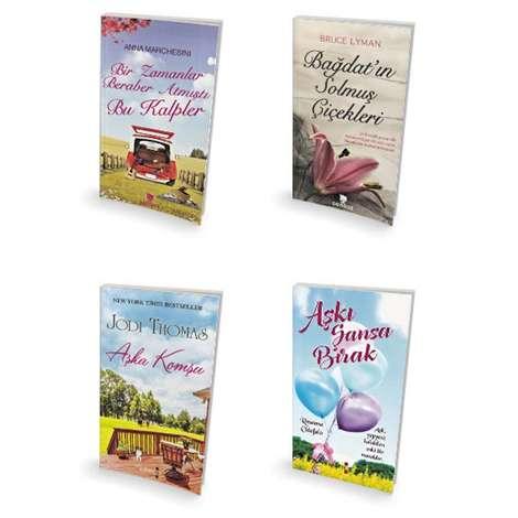 Aşk Romanları - 4 Kitap - Midi Boy