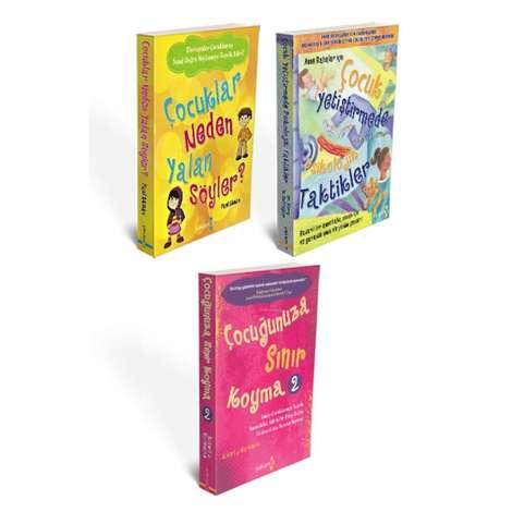 Çocuklar Neden Yalan Söyler ?, Çocuğunuza Sınır Koyma 2 ve Çocuk Yetiştirmede Psikolojik Taktikler - 3 Kitap