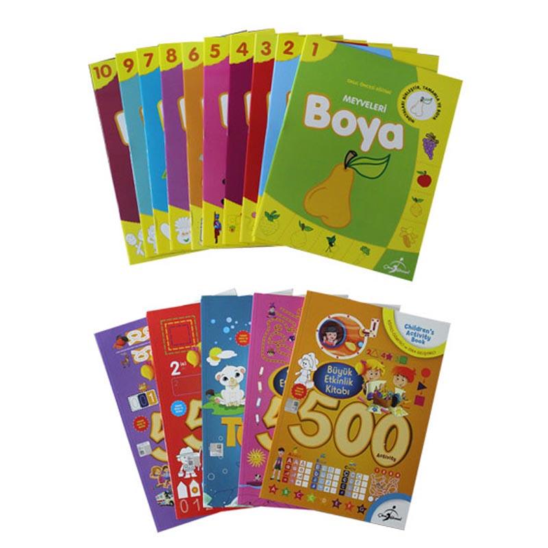 Etkinlik Ve Boyama Seti Okul Oncesi A101