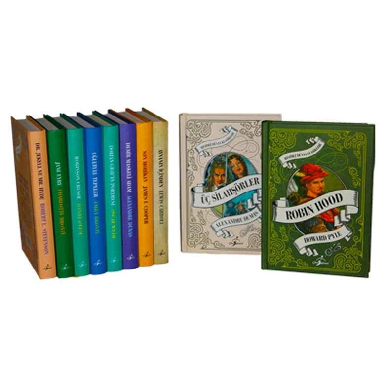 Ciltli Dünya Klasikleri - 10 Kitap