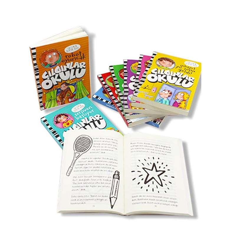 Çılgınlar Okulu Serisi - 9 Kitap