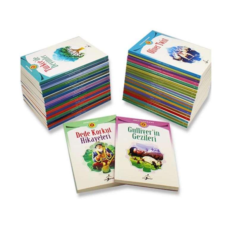 Meb Tavsiyeli 100 Temel Eser İlköğretim İçin - 40 Kitap Takım