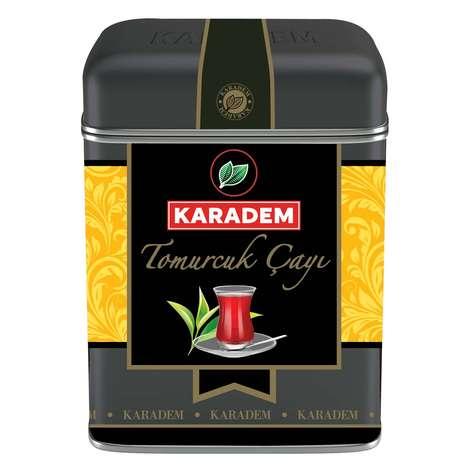 Karadem Çay Tomurcuk Teneke Kutu 100 G