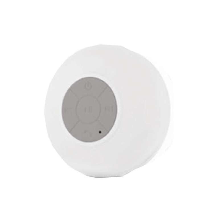 Bluetooth Hoparlör Suya Dayanıklı, Beyaz