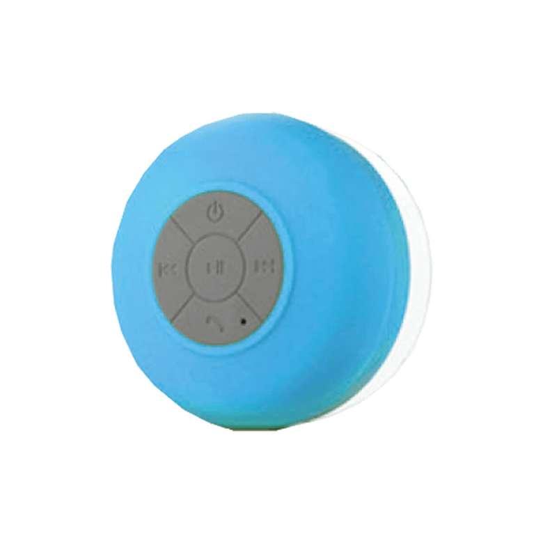 Bluetooth Hoparlör Suya Dayanıklı, Mavi