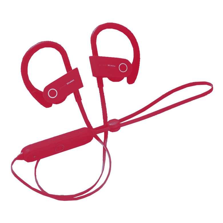 Piranha Kulak İçi Spor Kulaklık - Kırmızı
