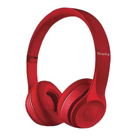 Piranha 2102 Kablolu Kulaklık - Kırmızı