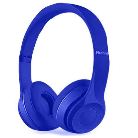 Piranha 2201 Bluetooth Kulaklık - Mavi