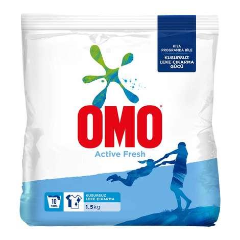 OMO Active Fresh Toz Deterjan 1,5 Kg