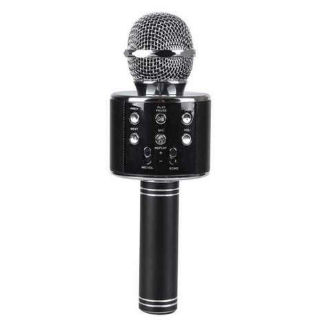 Piranha Karaoke Mikrofon - Siyah