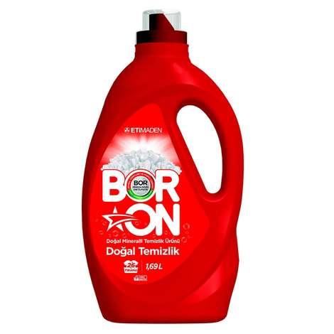 Boron Sıvı Deterjan Doğal Temizlik 1690 Ml