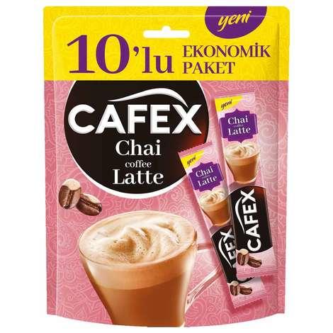 Cafex Chai Coffee Latte 10'lu