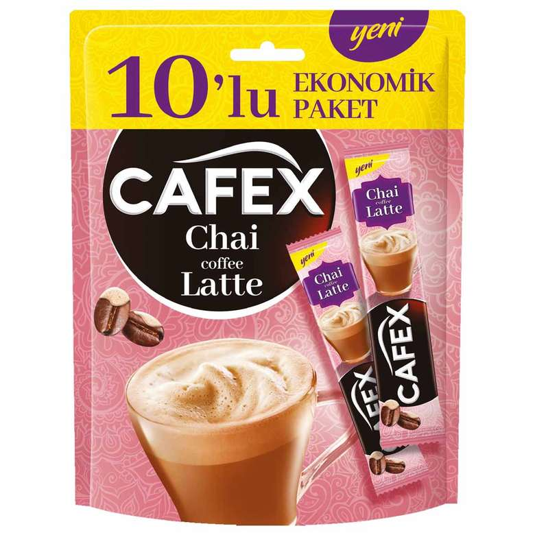 Cafex Chai Coffee Latte 10'lu