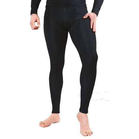 Silk&Blue Termal Uzun Alt İçlik - Mat Siyah M-L