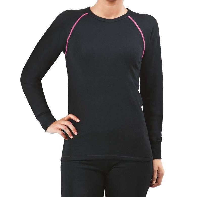 Silk&Blue Termal Uzun Kol Üst İçlik - Siyah L-XL