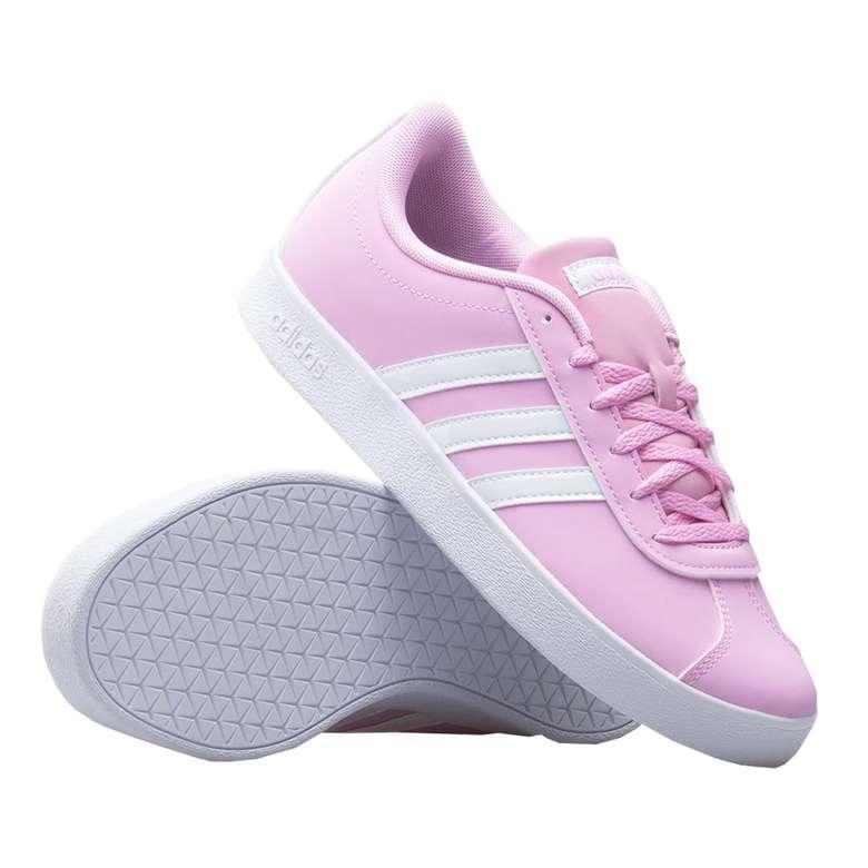 Adidas Vl Court 2.0 K DB1517 Spor Ayakkabı Kadın - 40