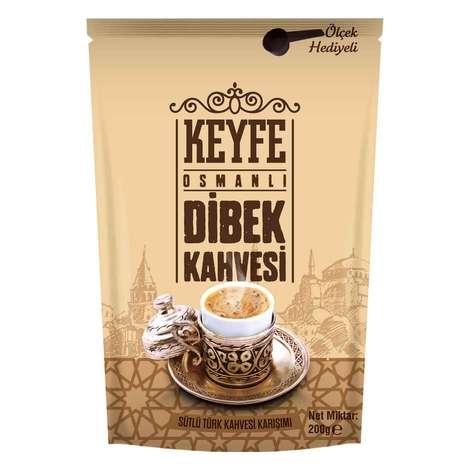 Keyfe Sütlü Osmanlı Dibek Kahvesi 200 G