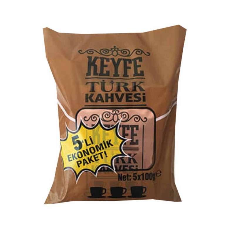 Keyfe Türk Kahvesi 5*100 gr
