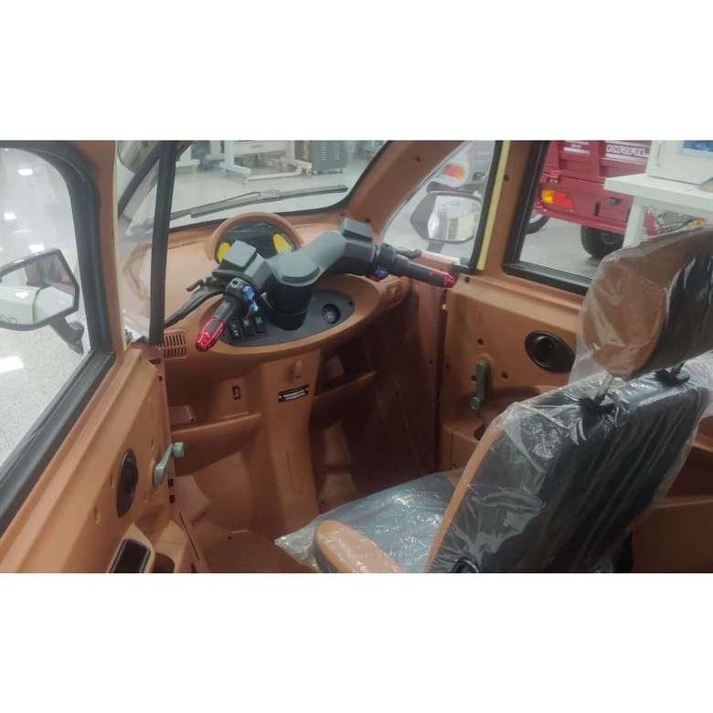 Elektrikli Araba Grande-6 - Kahve Beyaz