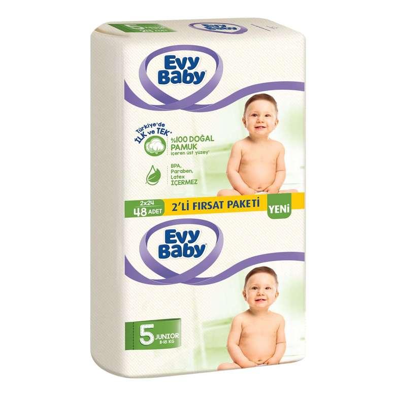 Evy Baby Bebek Bezi Junior 2li Paket 48li
