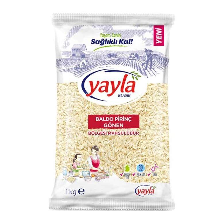 Yayla Pirinç Baldo Gönen 1000 G