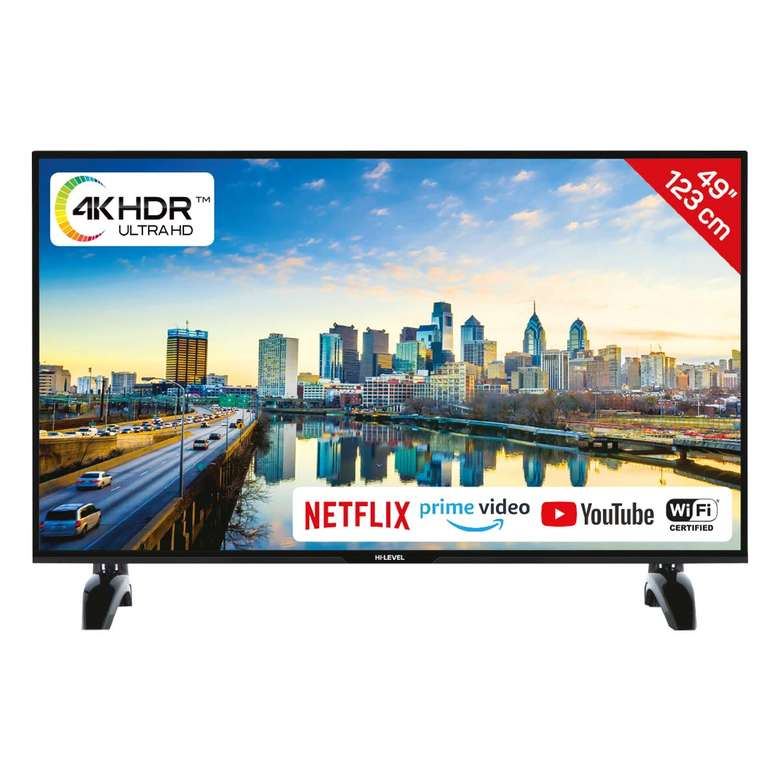 "Hi-Level 49UHL650 49"" Ultra HD Smart Led Tv"