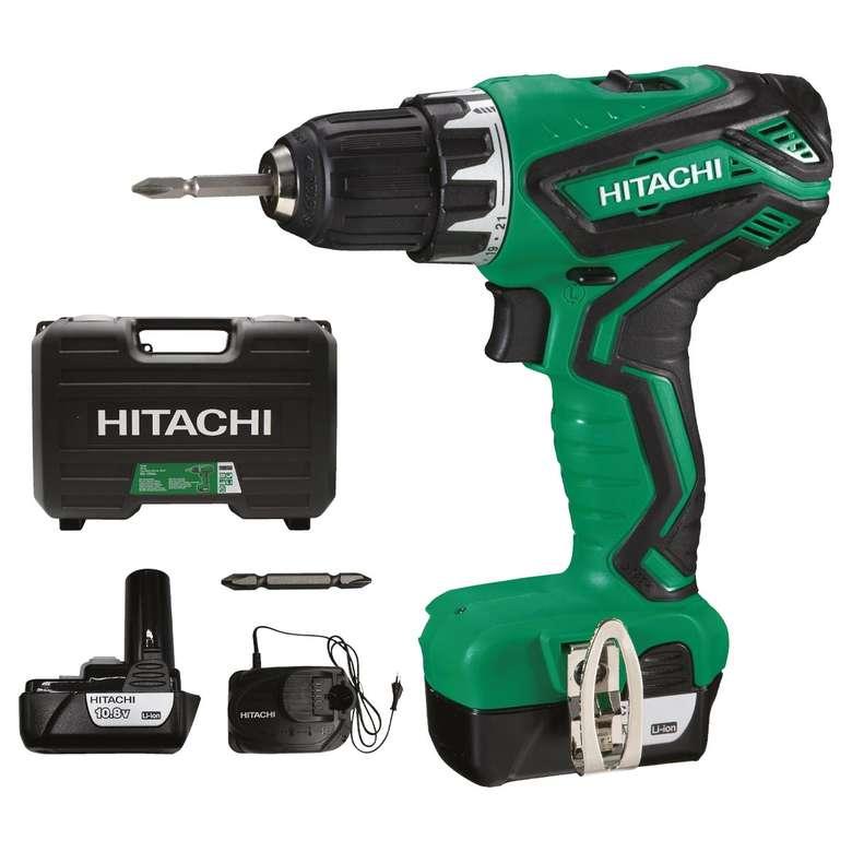 Hitachi HiKoki DS10DAL Şarjlı Matkap