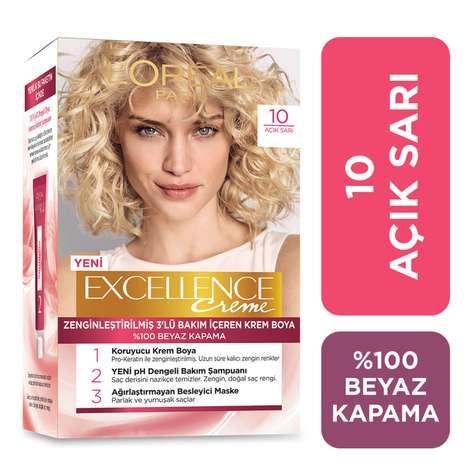 L'oreal Paris Excellence  Açık Sarı 10.0 Saç Boyası