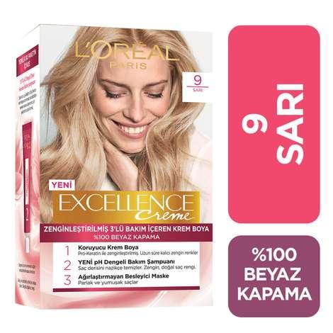 L'oreal Paris Excellence Sarı 9 Saç Boyası