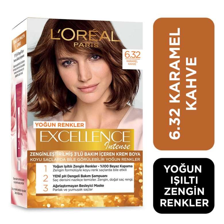 L'oreal Paris Excellence Koyu Karamel Kahve 6.32 Saç Boyası