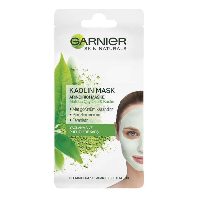 Garnier Kaolin İçerikli Arındırıcı Maske - Matcha ve Kaolin Özlü