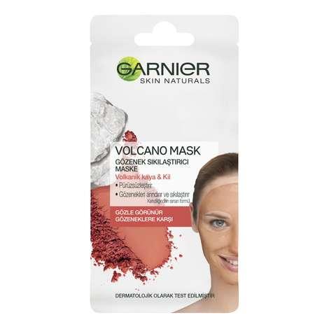 Garnier Volcano Gözenek Sıkılaştırıcı Maske - Volkanik Kaya ve Kil Özlü