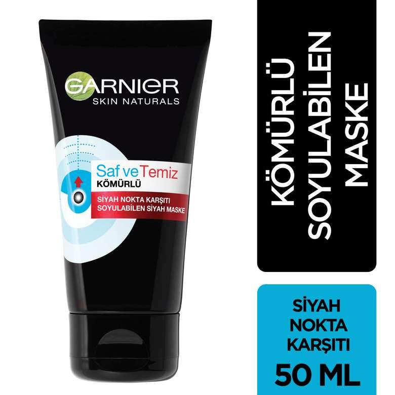 Garnier Skin Naturals Saf&Temiz Kömürlü Siyah Nokta Karşıtı Soyulabilir Maske
