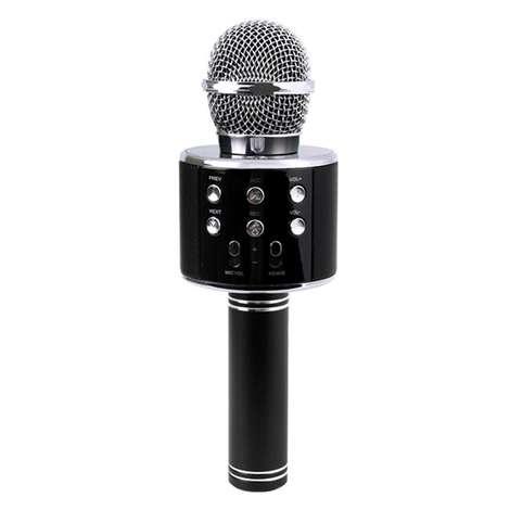 Intum Karaoke Bluetooth Mikrofon -Siyah