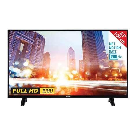 Hi Level  43'' Uydu Alıcılı Full HD  Led TV