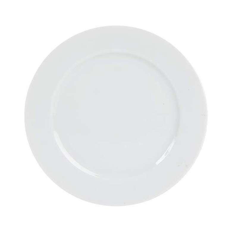 Porland Porselen Düz Tabak 19 Cm