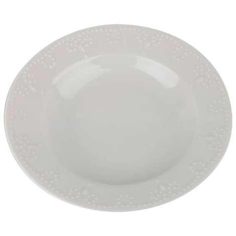 Porland Porselen Düz Tabak 24 Cm