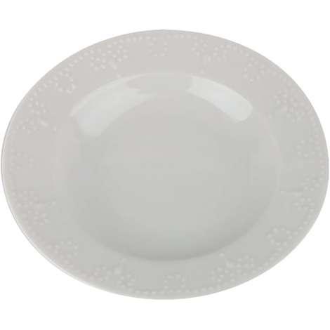 Porland Porselen Çukur Tabak 19 Cm
