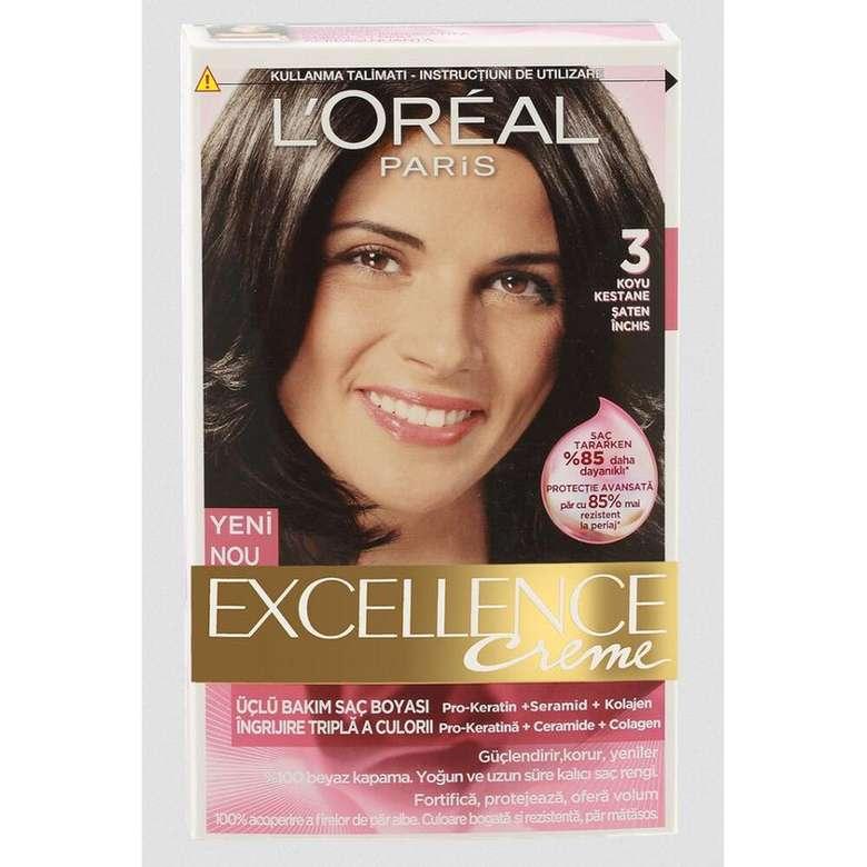 Saç Boyası Koyu Kestane 3 Excellence