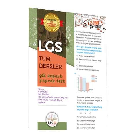 Yaprak Testler Lgs Tüm Dersler