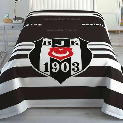Beşiktaş Lisanslı Battaniye 150x200cm