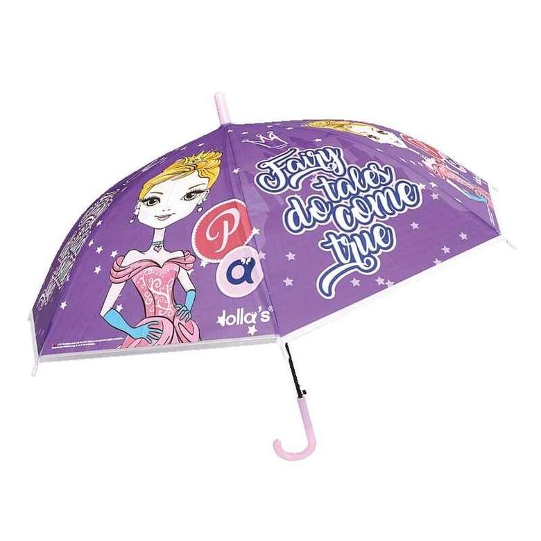 Lisanslı Çocuk Şemsiyesi - Lolla Fairytale