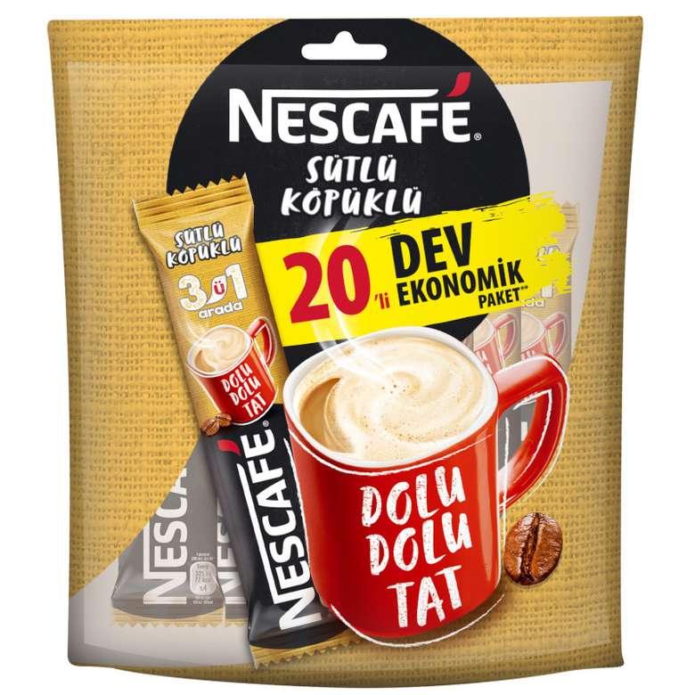 Nescafe 3'ü 1 Arada Sütlü Köpüklü