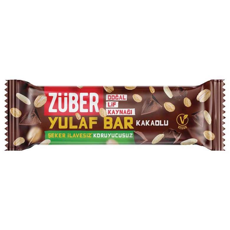 Züber Bar Kakaolu Yulaflı 28 G