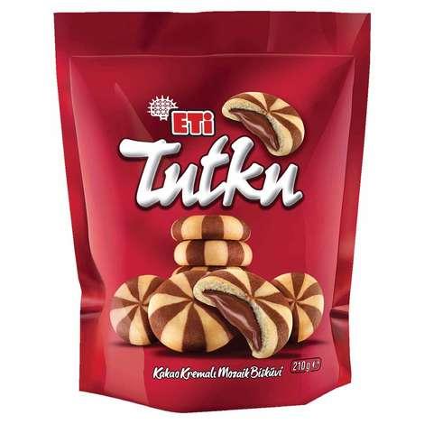 Eti Tutku Bisküvi Çikolata Dolgulu 210 G