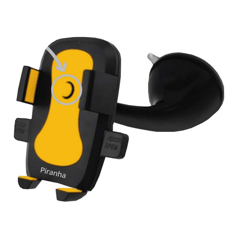 Piranha 5418 Araç İçi Telefon Tutucu - Sarı