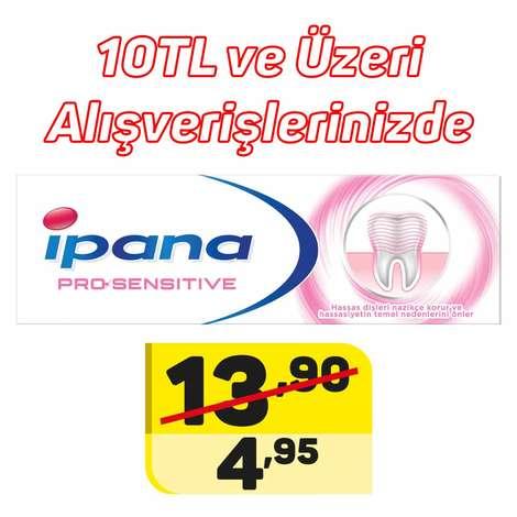 Ipana  Pro-Sensitive Diş Macunu 75 ml