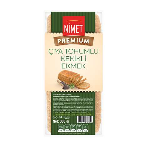 Nimet Premium Çiya Tohumlu Kekikli Ekmek  330 gr
